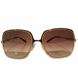 Dsquared Square Sunglasses - Brown/Yellow