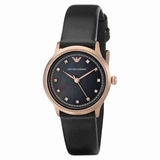 Emporio Armani AR1802 Classic Ladies Watch - Black