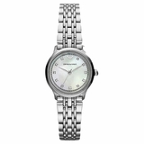Emporio Armani AR1803 Classic Stainless Steel Ladies Watch - Silver