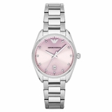 Emporio Armani AR6063 Classic Ladies Watch - Silver