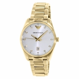 Emporio Armani AR6064 Clasic Ladies Watch - Gold
