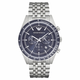 Emporio Armani Men Tazio Watch - Silver