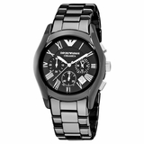 Emporio Armani Watch Ceramica - Black