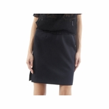 Exte Wool Skirt- Black