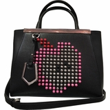 Fendi 2jour Satchel Apple Limited - Black