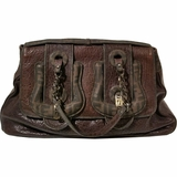 Fendi Large Leather B Bag - Brown