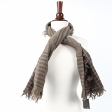 Fendi Olive and Creme Scarf