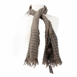 Fendi Scarf - Cream/Olive