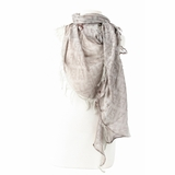 Fendi Scarves and Wraps Zucca Scarf - Brown/Grey