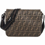 Fendi Shoulder Flap Bag - Tobacco