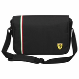 Ferrari Active Messenger Bag - Black