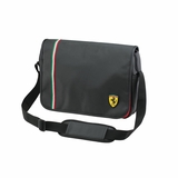 Ferrari TF006A Messenger Bag - Black