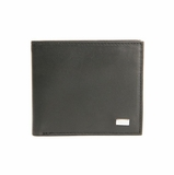 Ferre Leather Bifold Wallet Black