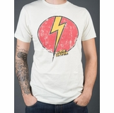 Flash Gordon Logo Graphic Tee - White