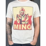 Flash Gordon Ming Graphic Tee - Ivory