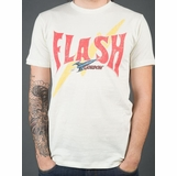 Flash Gordon Ship Logo Graphic Tee - White