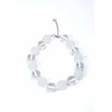 Furla Beads Necklace - White & Clear