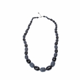 Furla Long Beads Necklace - Black