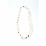 Furla Long Necklace - White