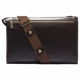 Ghurka Men's Messenger Briefcase Docket No. 7 Zzusb007 Shoulder Bag - Brown