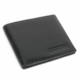 Giorgio Armani Deerskin Leather Wallet 470 - Black
