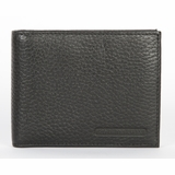 Giorgio Armani Deerskin Leather Wallet GA466 - Black