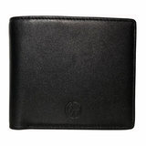 Giorgio Armani Leather Wallet 604 Nappa - Black