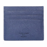 Giorgio Armani Saffiano Leather Cardholder Wallet 240 - Blue