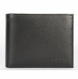 Giorgio Armani Saffiano Leather Wallet 466 - Black
