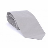 Giorgio Armani Silk Tie - Light Gray