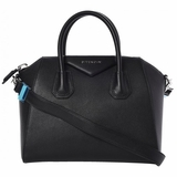 Givenchy Antigona Small Leather Satchel - Black