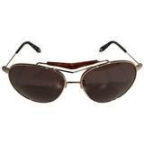 Givenchy Aviator Sunglasses - Gold/Brown
