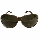 Givenchy Aviator Sunglasses - Gold/Green