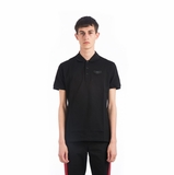 Givenchy Logo Polo Shirt - Black