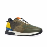 Givenchy Paneled Laceup Sneakers - Multicolor