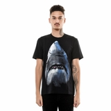 Givenchy Print T-shirt - Shark - black