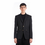 Givenchy Star Button Blazer - Black
