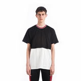 Givenchy Striped Panel T-shirt - Black