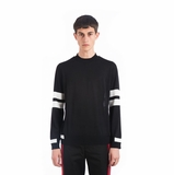 Givenchy Striped Sweater - BlacK/white