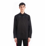 Givenchy Wing Embroidered Shirt - Black