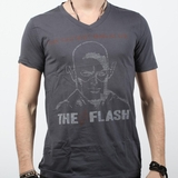 Graphics The Flash Vintage Tee - Gray