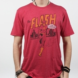 Graphics The Flash Vintage Tee - Red