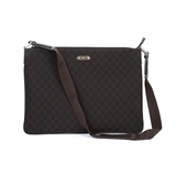 Gucci Canvas Messenger Bag 190628 - Brown