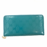 Gucci Coated Canvas Shiny Crystal Guccissima Blue/Green