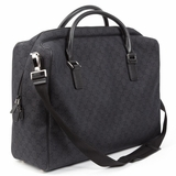 Gucci GG Denim Travel Bag - Black