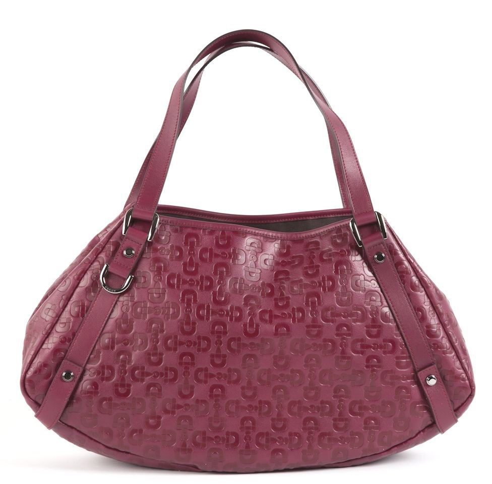 289a4fdaafe5 Gucci Embossed Leather Tote Bag | Stanford Center for Opportunity ...