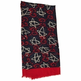 Gucci Ghost Shawl - Red