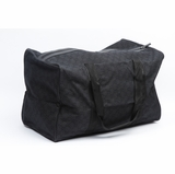 Gucci Large Collapsible Travel Carry-On Duffel - Black