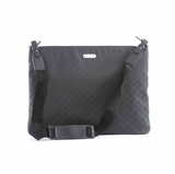 Gucci Nylon Messenger Bag 190628 - Black