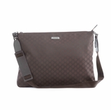 Gucci Nylon Messenger Bag 190628 - Brown